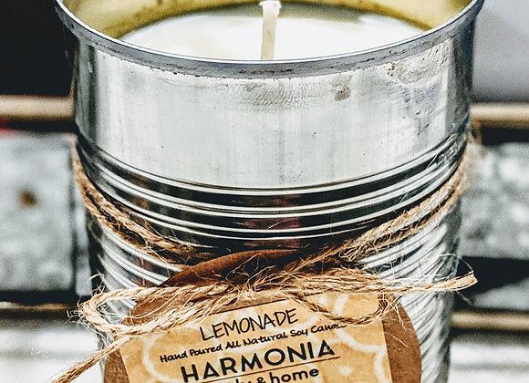 Lemonade Upcycled Candle