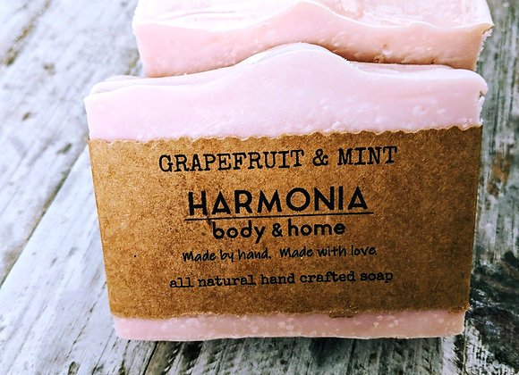 Grapefruit & Mint Soap