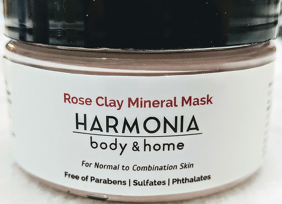 Rose Clay Mineral Mask