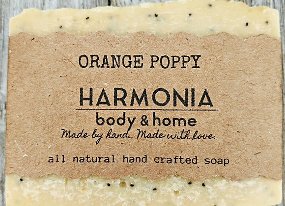 Orange Poppy Soap