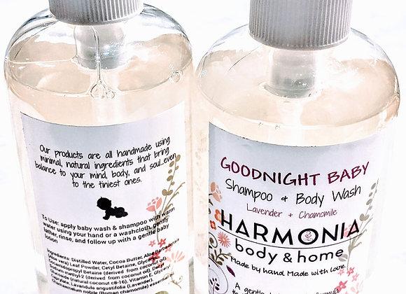 Baby Shampoo + Body Wash