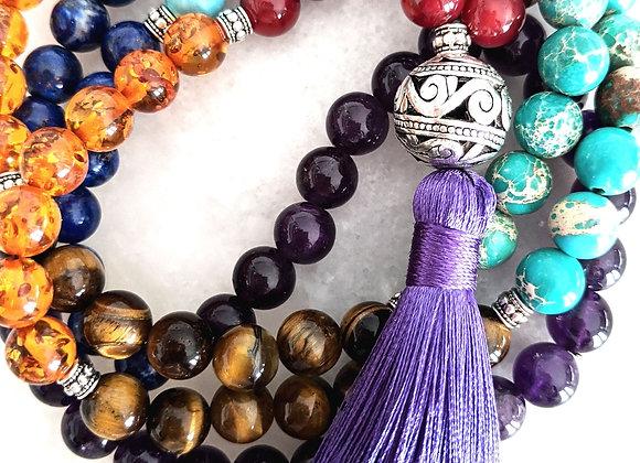 Mala Necklace - Chakra