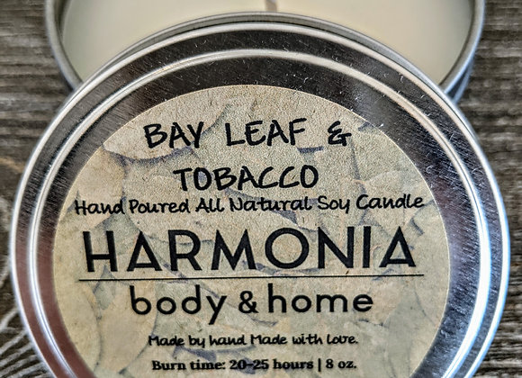 Bay Leaf & Tobacco Candle