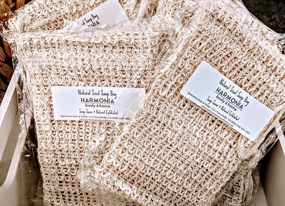 Natural Sisal Soap Bag