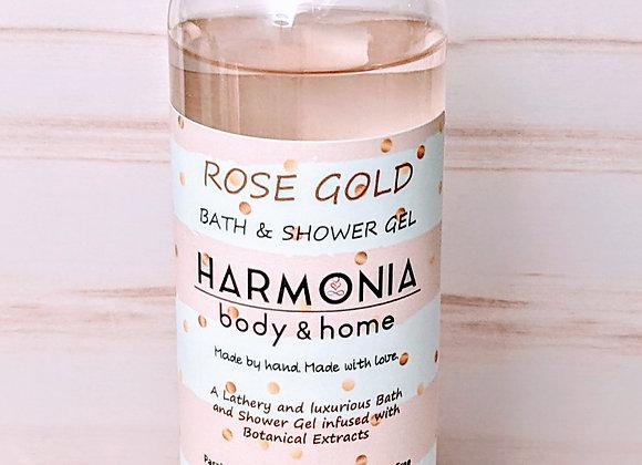 Bath + Shower Gel - Rose Gold