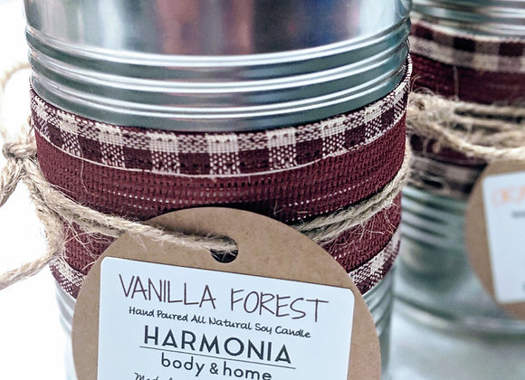 Vanilla Forest Upcycled Candle