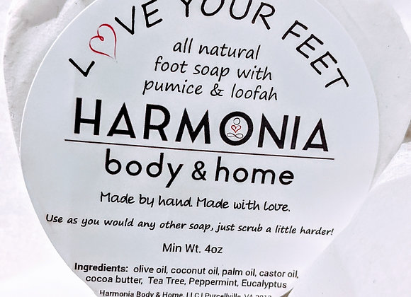 Love Your Feet - Exfoliating Foot Soap