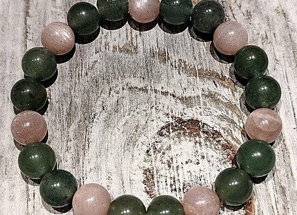Aventurine & Moonstone Bracelet