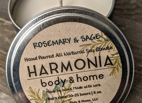 Rosemary & Sage Candle