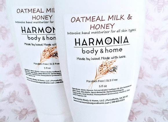 Oatmeal Milk & Honey Hand Lotion
