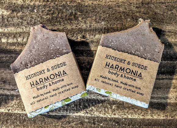Hickory & Suede Soap
