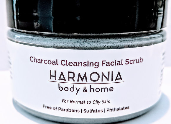 Charcoal Cleansing Facial Scrub