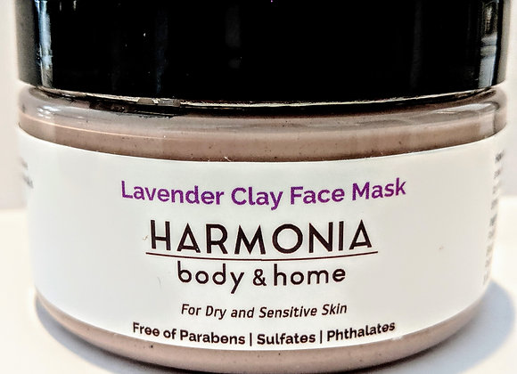 Lavender Clay Face Mask