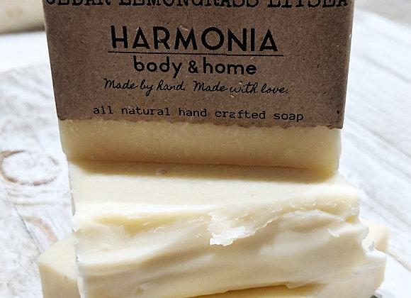 Cedarwood & Lemongrass Soap