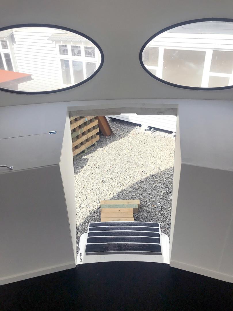 Hatch entry