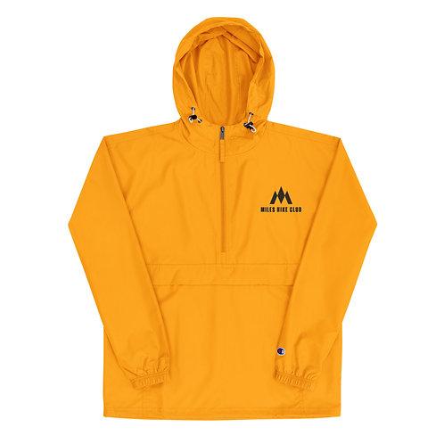 MHC x Champion Pull Over Jacket - Black Logo