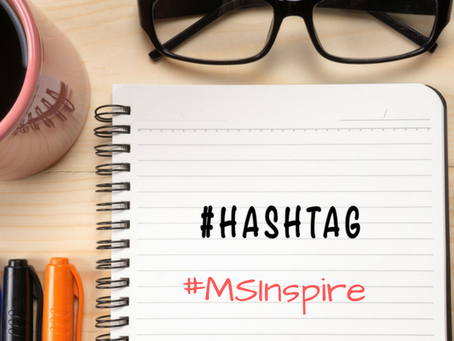 What hashtag should you be using at Microsoft Inspire 2017?