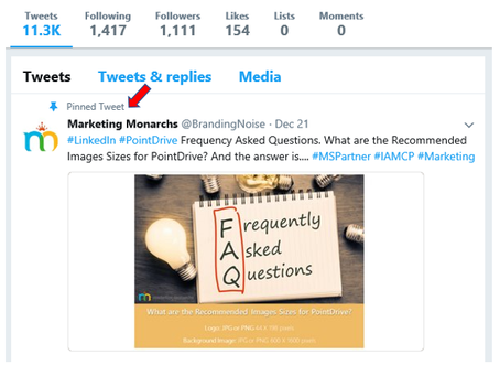 Learn How to Gain More Engagement with Pinned Tweets