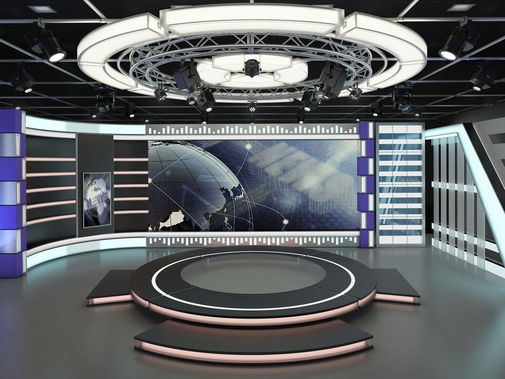 Virtual Event Studio Rendering