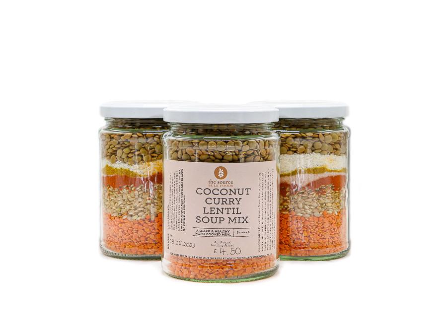 Coconut Curry Lentil Soup