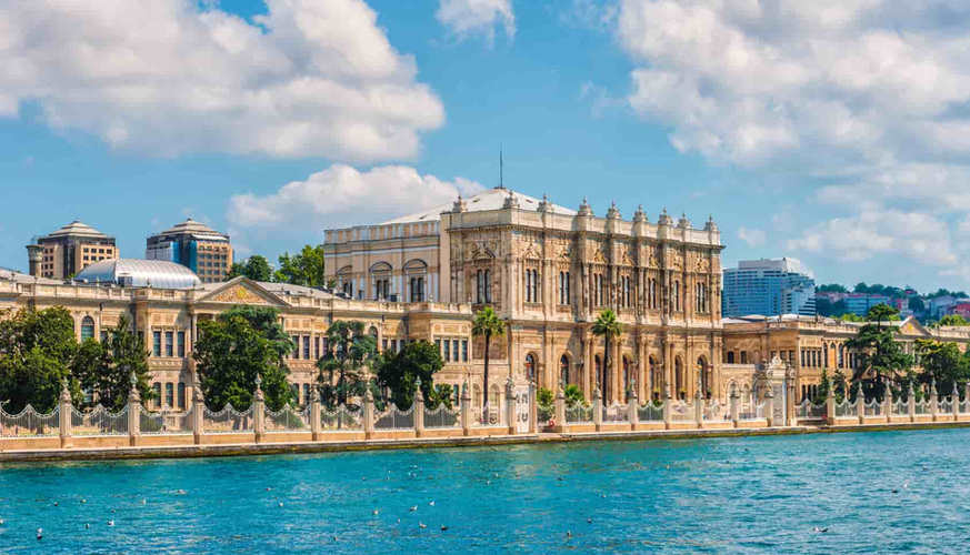 Dolmabahce Palace from the Boat