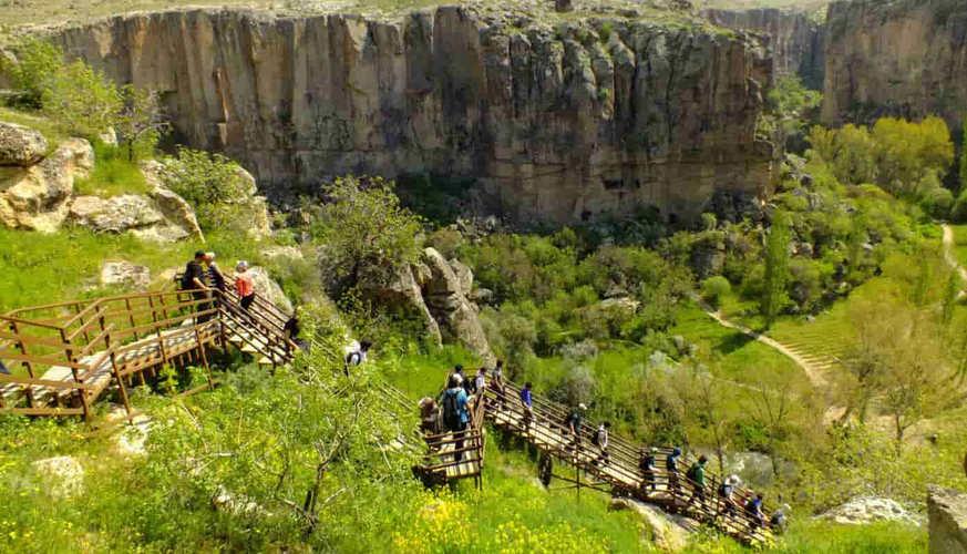 Hiking in Ihlara Valley