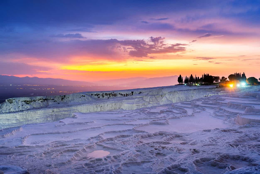 Pamukkale en Turquía