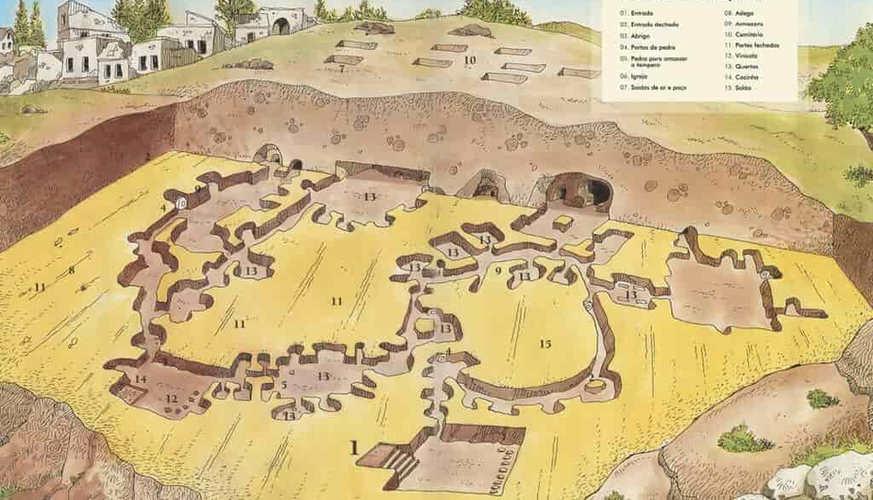 Map of Underground City