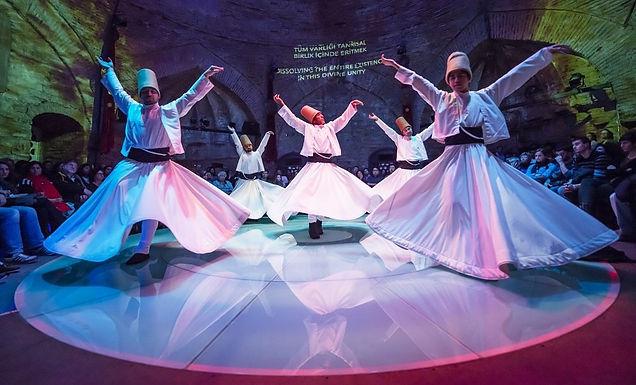 Show de los Derviches Giradores de Estambul