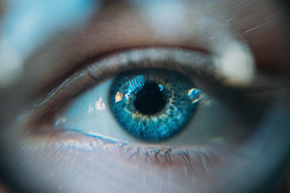 Image showing eye exam for contact lenses in north miami