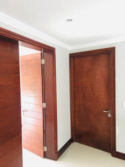 Matching sleeping area door