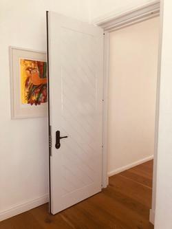Security Door to sleeping area