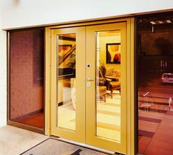 Entrance door. Security