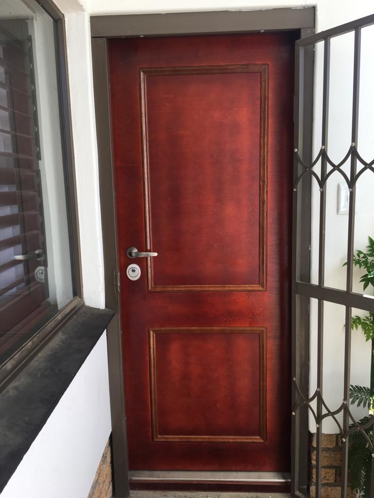 Front entrance Security Door to match old door design