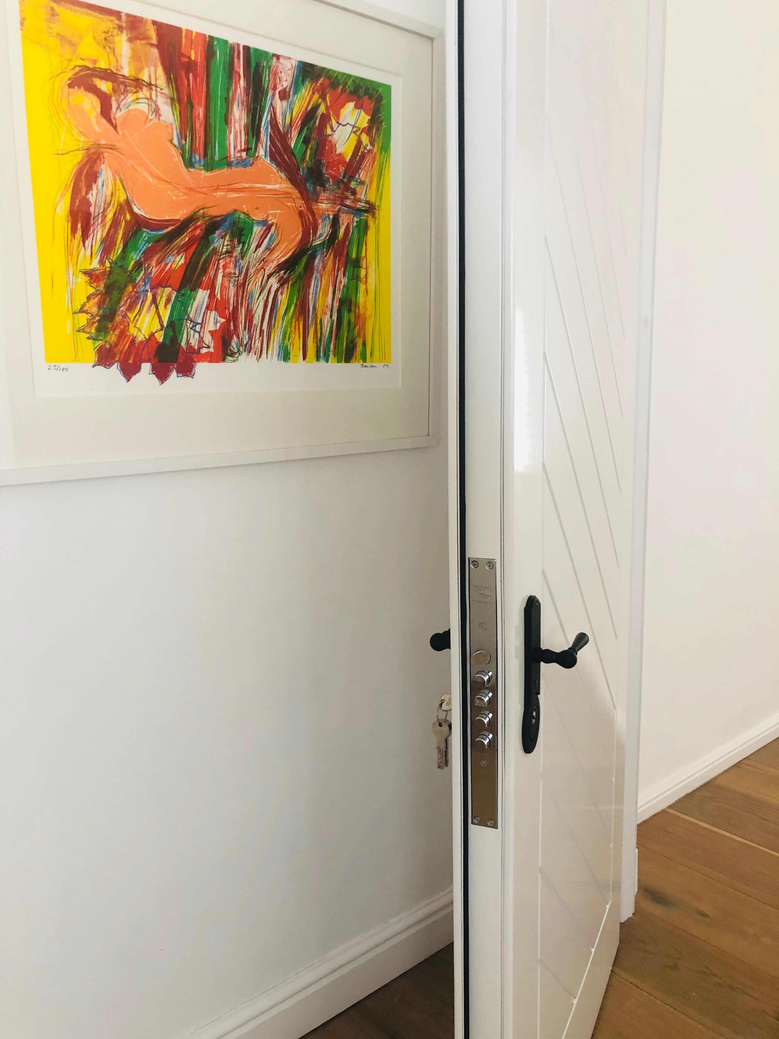 Sleeping area door
