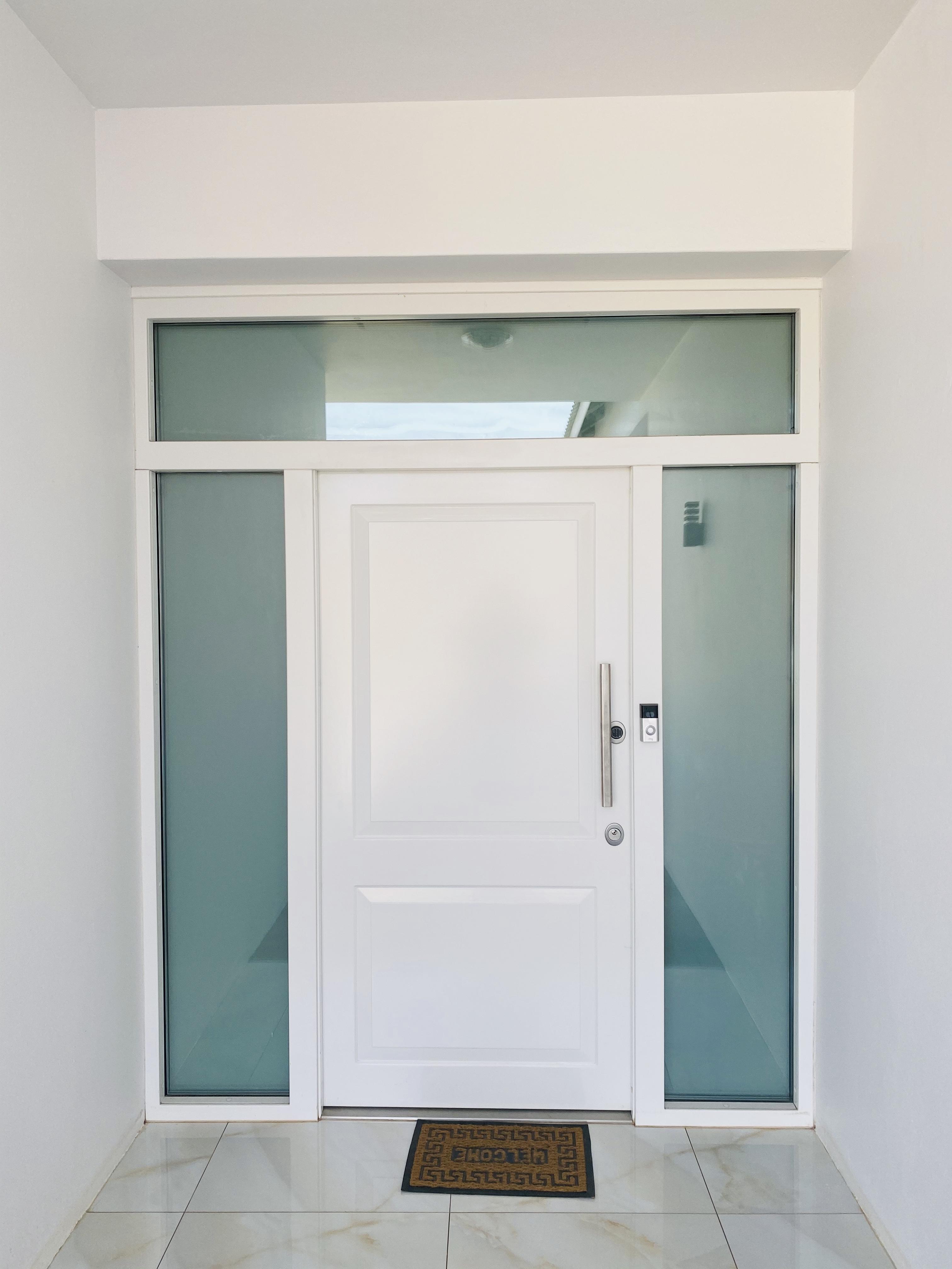 Front entrance security door