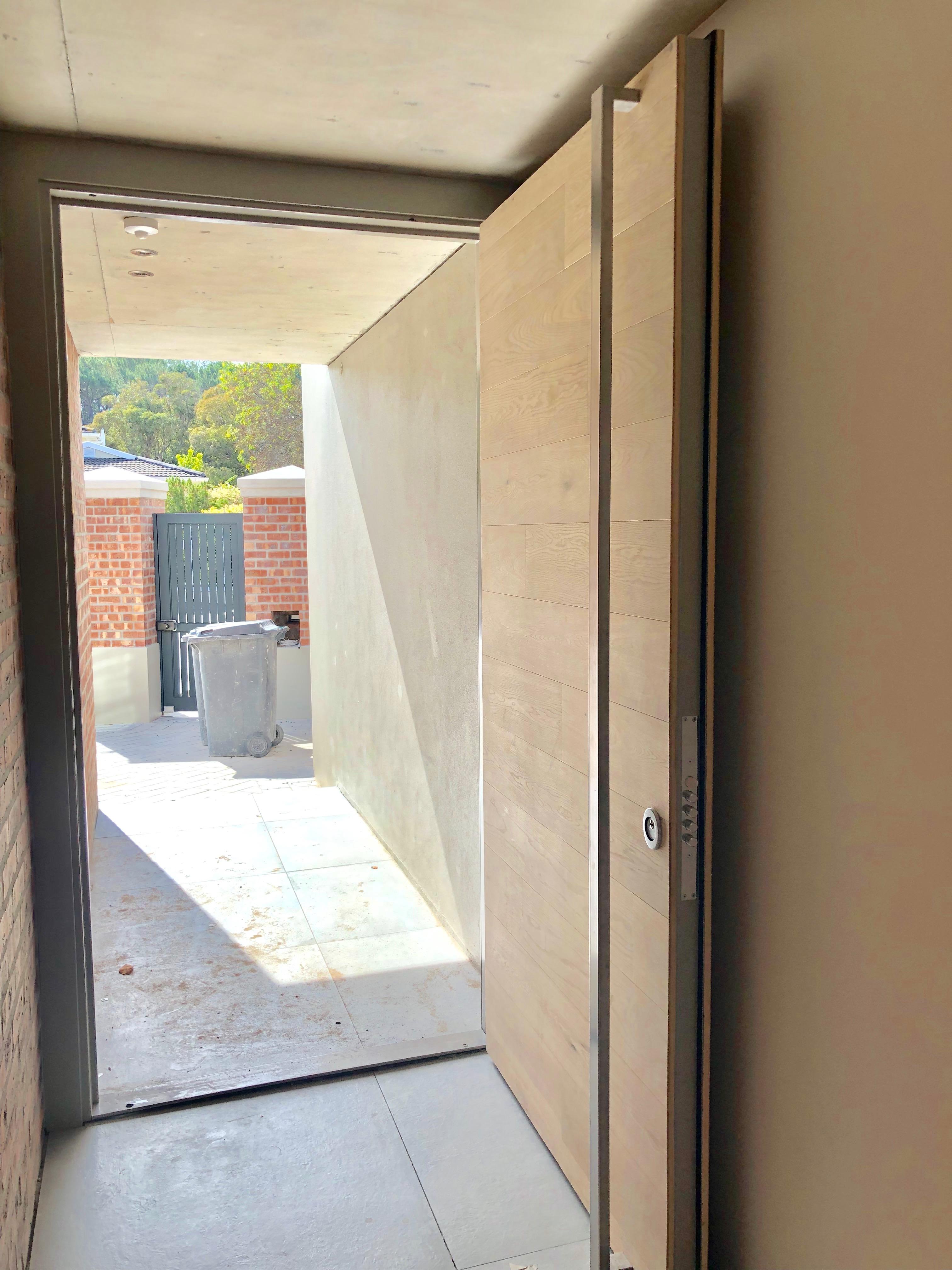 Armored burglar door