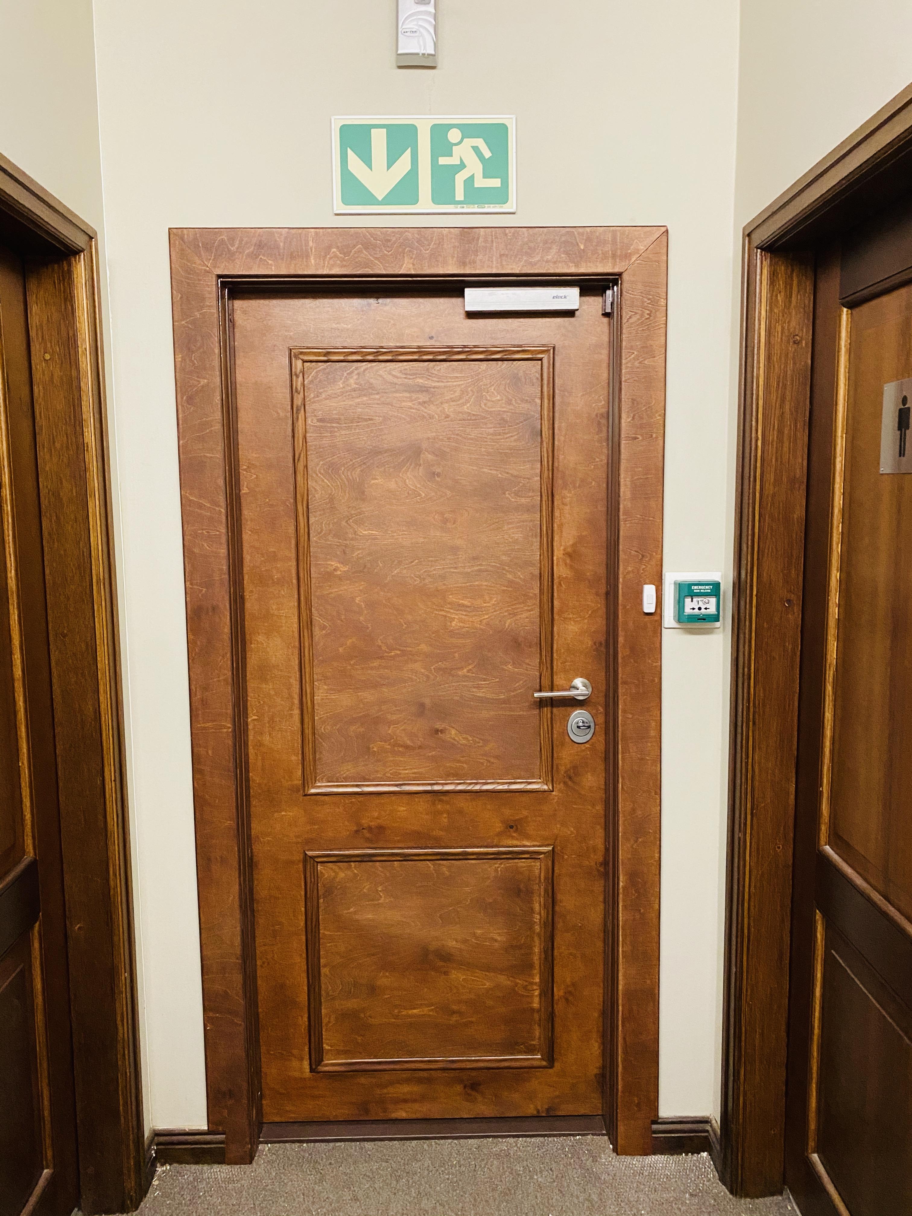 Internal Security door