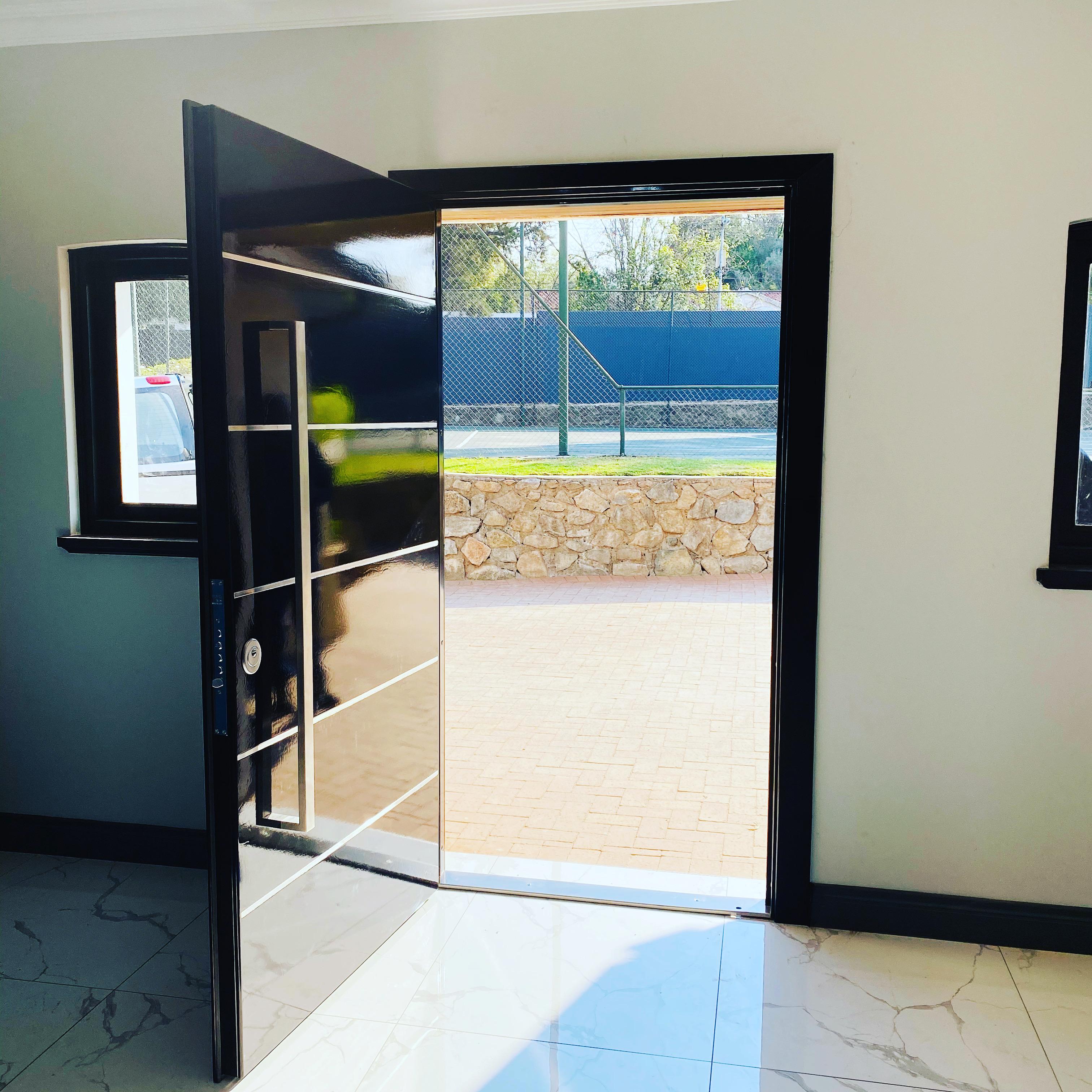 High Gloss security door