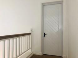 Sleeping area armored door