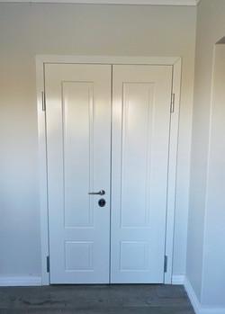 Bullet proof security door