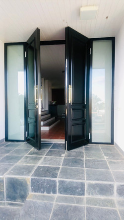 Front entrance Solution