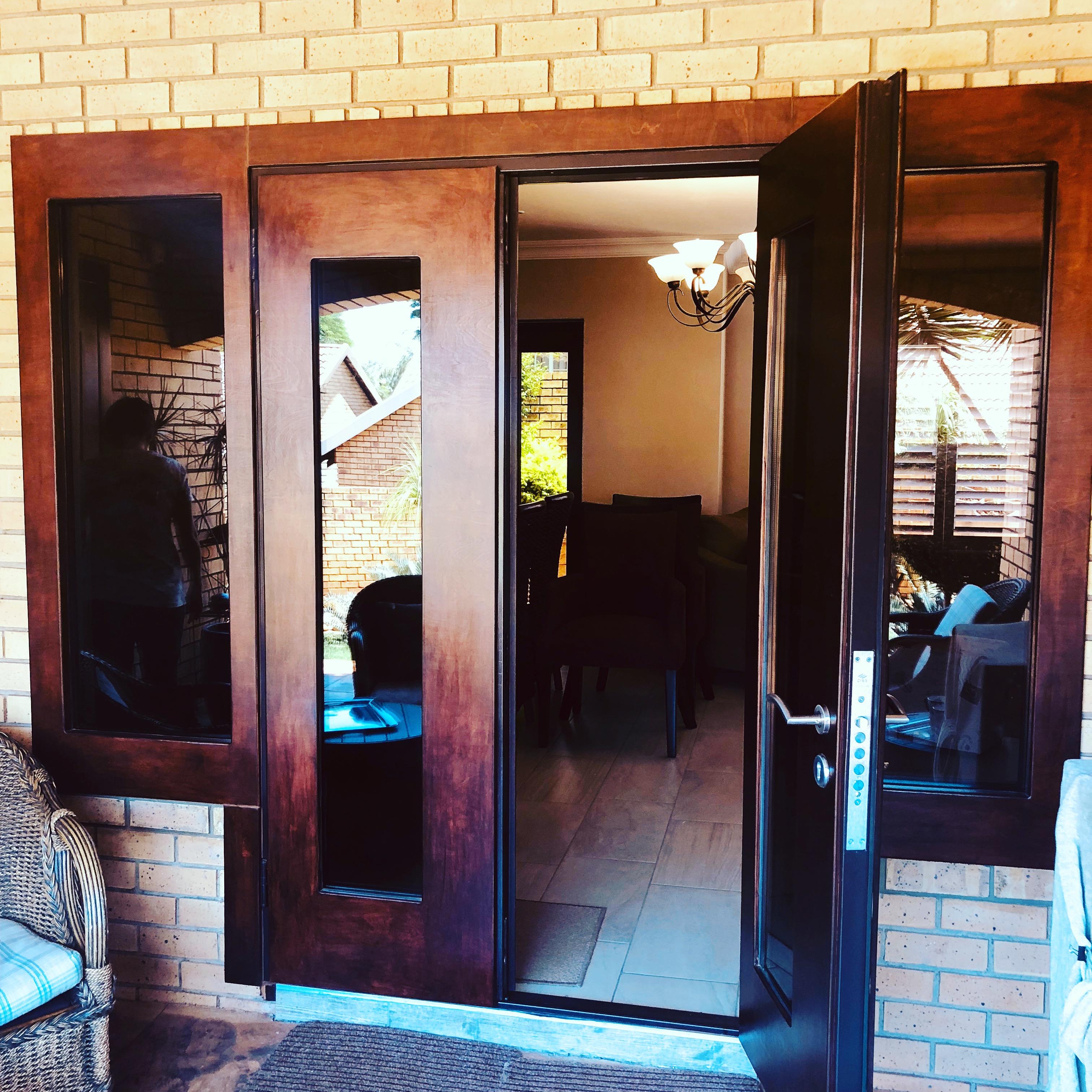 French Double burglar door