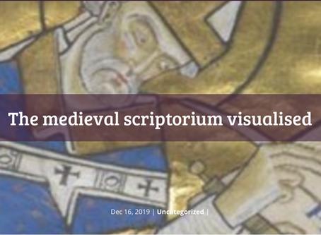 The medieval scriptorium visualised