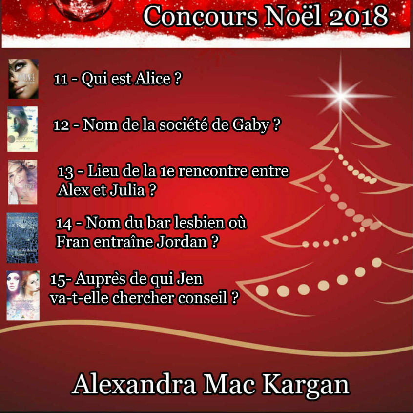 CONCOURS NOEL 2018 SERIE 3