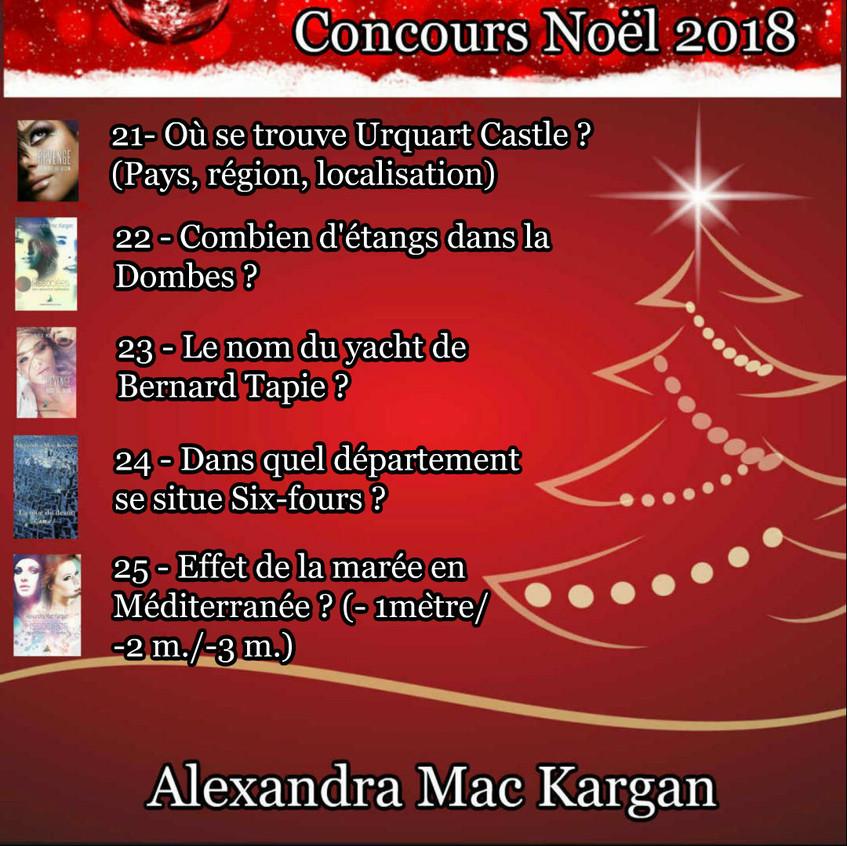 CONCOURS NOEL 2018 SERIE 5