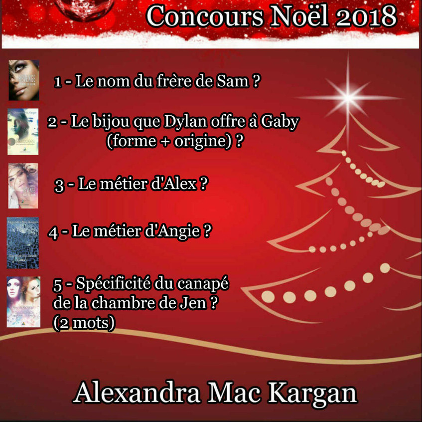 CONCOURS NOEL 2018 SERIE 1