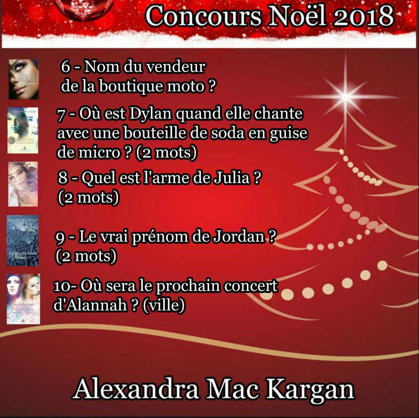 CONCOURS NOEL 2018 SERIE 2