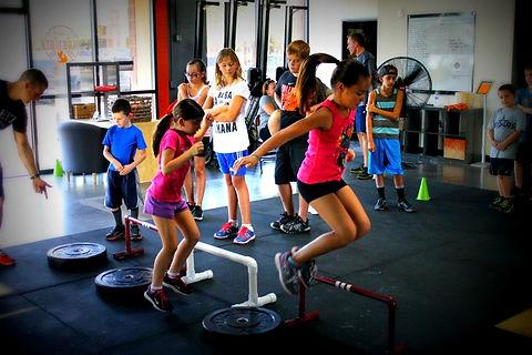Тренировки за децаKids training