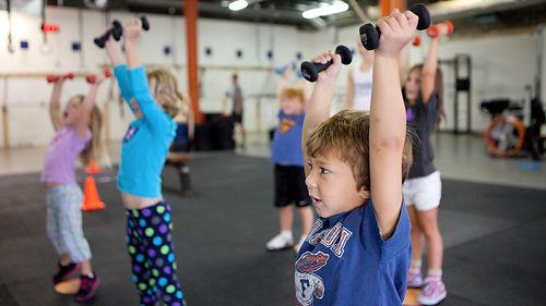 Тренировки за деца kids trainingи